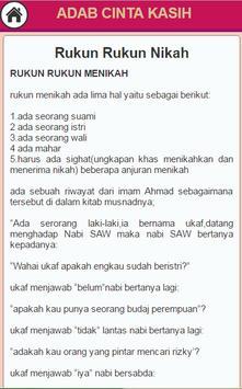 Seni Cinta Kasih Islami screenshot 2