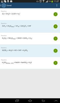 Chemical Reactions screenshot 5