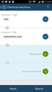 Chemical Reactions screenshot 2