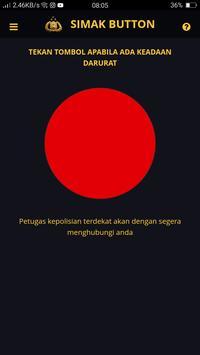 SIMAK BUTTON poster