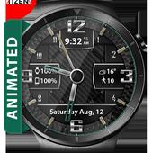 Carbon Fiber HD Watch Face icon