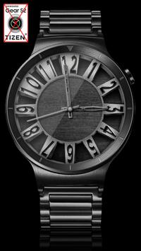 Brushed Steel HD Watch Face & Clock Widget apk screenshot