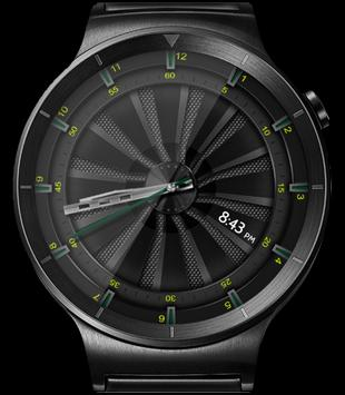 Mesh Turbine HD Watch Face & Clock Widget apk screenshot