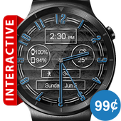 Polished Style HD Watch Face & Clock Widget icon