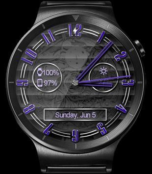 Polished Style HD Watch Face apk screenshot