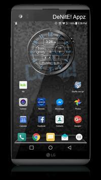 Polished Style HD Watch Face & Clock Widget apk screenshot