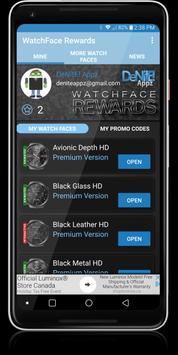 WatchFace Rewards screenshot 4