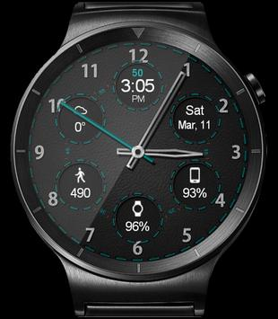 WatchR - Multi Watch Face & Clock Widget captura de pantalla 13