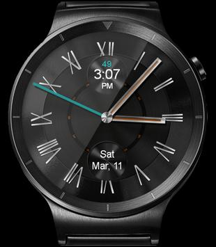 WatchR - Multi Watch Face & Clock Widget captura de pantalla 17