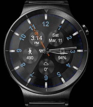 WatchR - Multi Watch Face & Clock Widget captura de pantalla 15