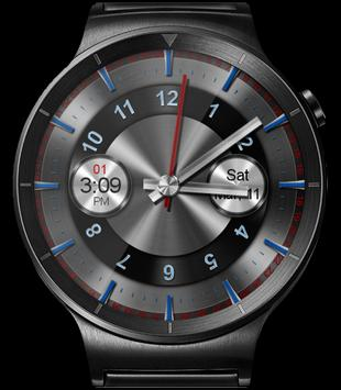 WatchR - Multi Watch Face & Clock Widget captura de pantalla 16
