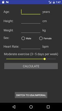 Fitness Calculator poster