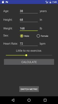 Fitness Calculator screenshot 2