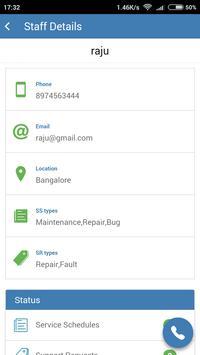 Maple Support CRM apk screenshot