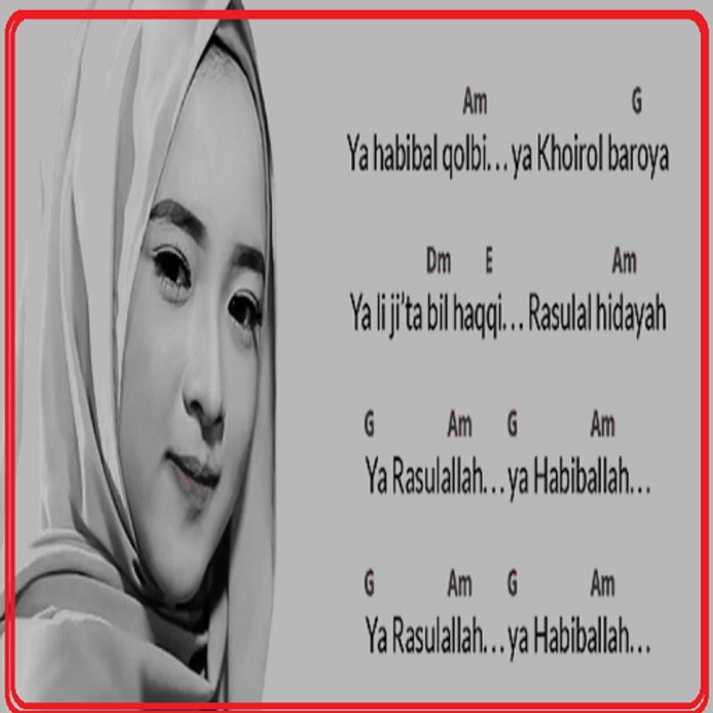 Kunci Gitar Nissa Sabyan Sholawat For Android Apk Download
