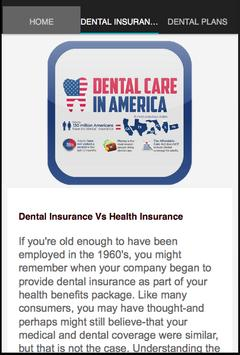 Dental Insurance Plans apk screenshot
