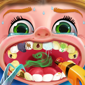 Crazy Dentist Clinic For Kids icon