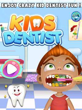 Crazy Dentist Clinic For Kids poster