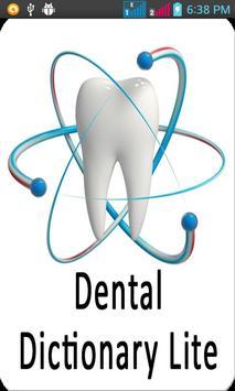 Dental dictionary poster