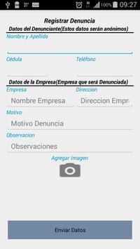 INTN Denuncias Ciudadanas screenshot 2
