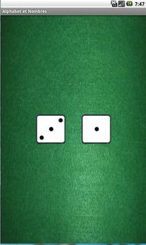 Alphabet and numbers apk screenshot
