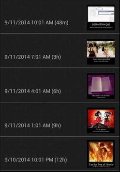 Desmotivaciones del amor apk screenshot