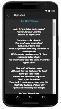 Sofia Carson Song & Lyrics apk screenshot