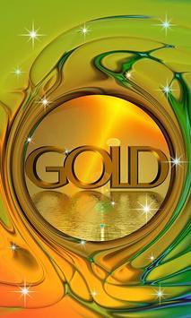 Gold Live Wallpaper poster