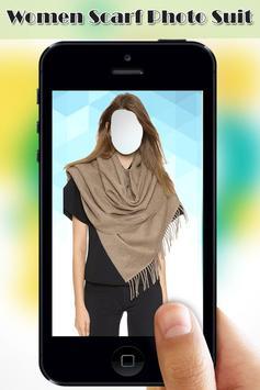 Women Scarf Photo Suit screenshot 2