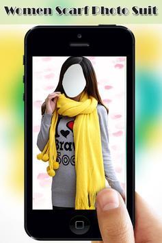 Women Scarf Photo Suit screenshot 3