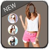 Woman Top Wear Photo Suit icon