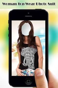 Woman Top Wear Photo Suit screenshot 4