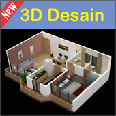 3D Desain Rumah icon