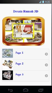 3D Desain Rumah poster