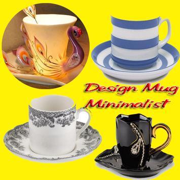 Mug cup design Kreative poster