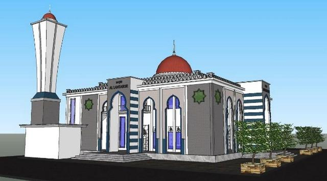 Modern Mosque Design screenshot 4