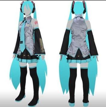 Design Anime Cosplay apk screenshot