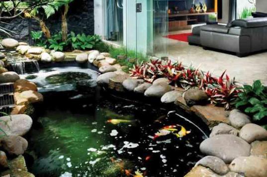 Fish Pond Design Idea screenshot 5
