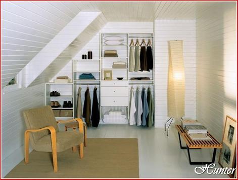 desain lemari tangga poster