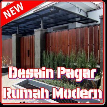 Desain Pagar Rumah Modern poster