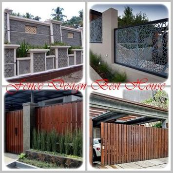 Fence Design Best House poster