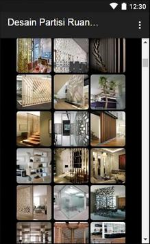 Desain Partisi Ruangan apk screenshot