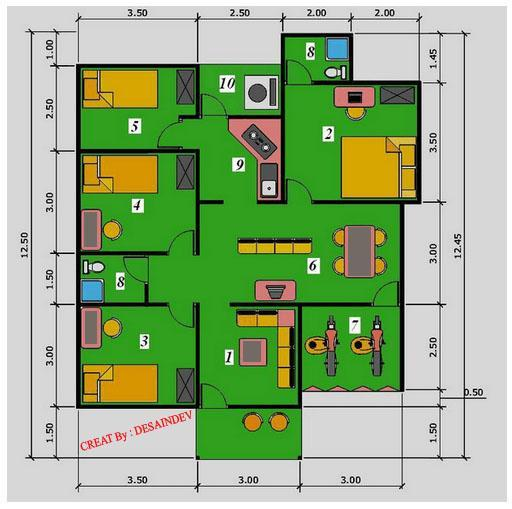House 3 Room Design For Android Apk Download