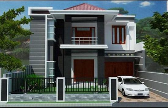 Minimalist house design poster