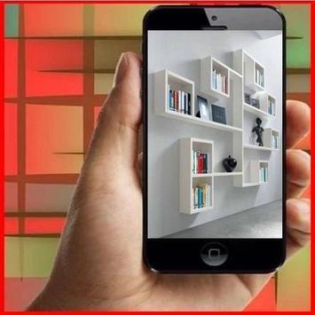 Minimalist Design Bookcase poster