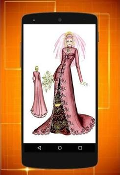 Design of dress seketsa screenshot 1