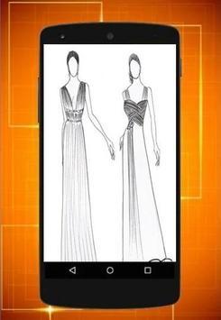 Design of dress seketsa screenshot 2