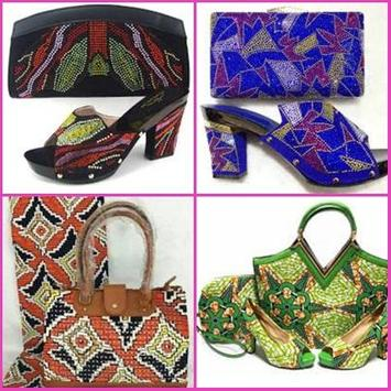 African Women Bag Design poster