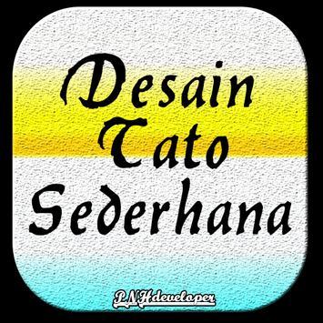 Desain Tato Sederhana poster