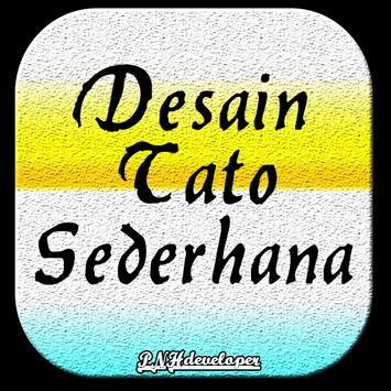 Desain Tato Sederhana screenshot 1